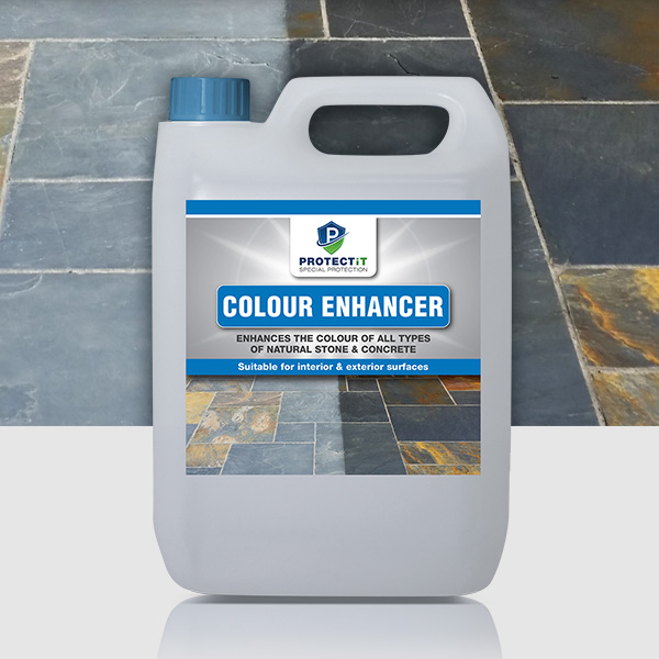 Natural stone colour enhancer
